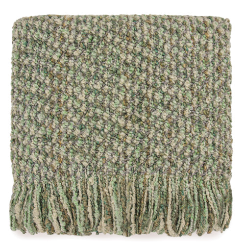Kennebunk Home Mesa Pistachio throw blanket