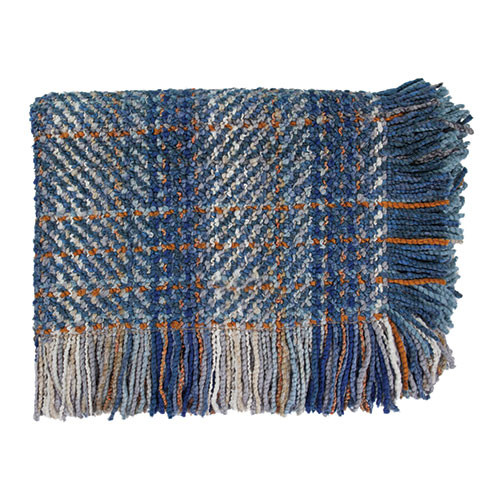 Kennebunk Home Ombre throw blanket in Blue