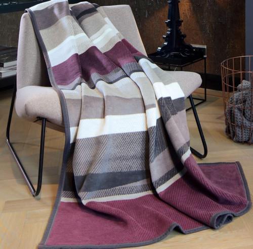 Biederlack Irregular Stripe Blanket