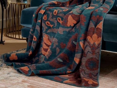 Biederlack Imposing Floral Blanket