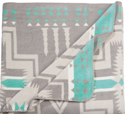 Beacon Agawam Turquoise Design Blankets