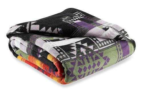 Beacon Johanna Gold and Purple Southwest Blankets