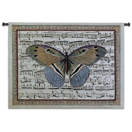Fine Art Tapestries Butterfly Dance II Wall Tapestry