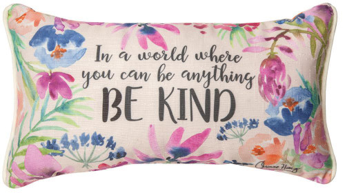 In a World Where You Can Be Anything Pillow