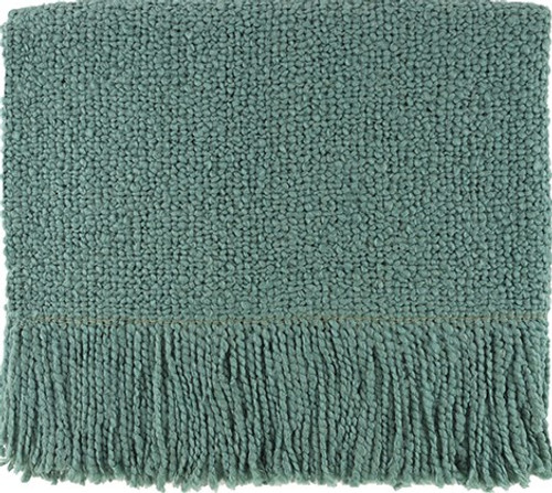 Kennbunk Home Campbell Seafoam Throw Blanket