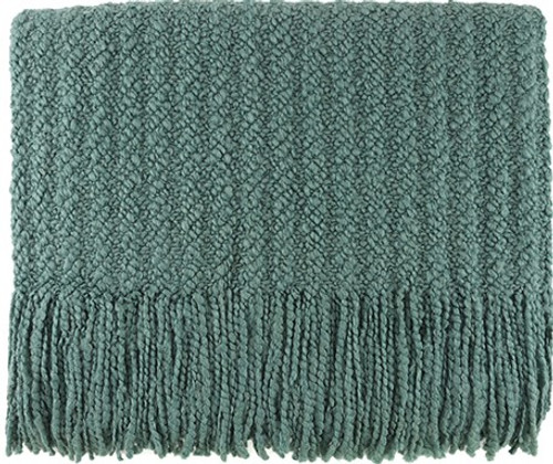 Kennebunk Home Berkshire Throw in Seafoam
