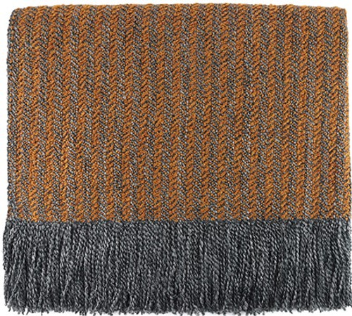 Kennebunk Home Quincy Throw Blanket Apricot