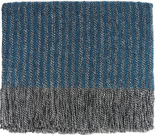 Kennebunk Home Quincy Throw Blanket Juniper