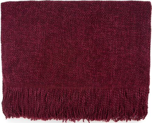 Kennebunk Home Serene Throw - Claret