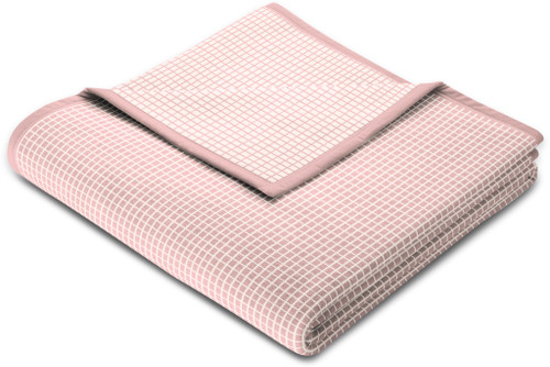 Biederlack Allover Check Lotus Blanket