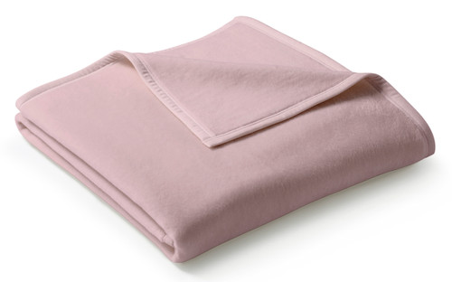 Biederlack Uno Cotton Rose Blanket