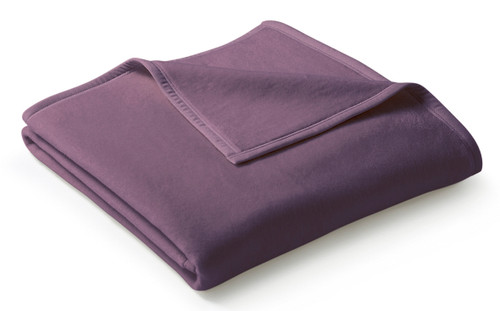 Biederlack Uno Cotton Holunder Elderberry Blanket