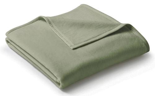 Biederlack Uno Cotton Salbei Sage Blanket