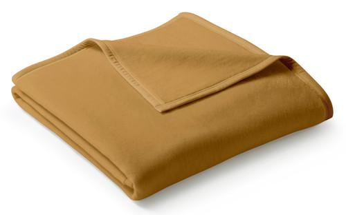 Biederlack Uno Cotton Camel Blanket
