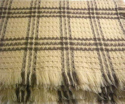 Lebarca Thrace 100 Percent Organic Wool Blanket