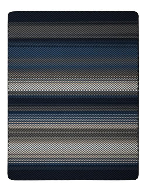 Biederlack Blue Twill Blanket