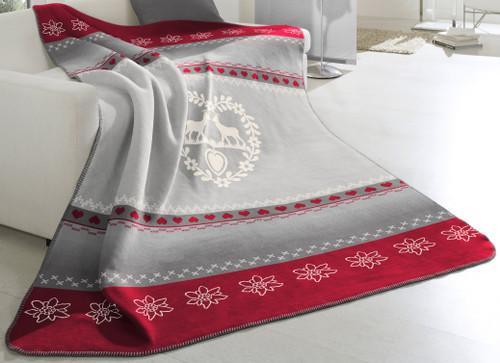 Biederlack Alpine Romance Blanket
