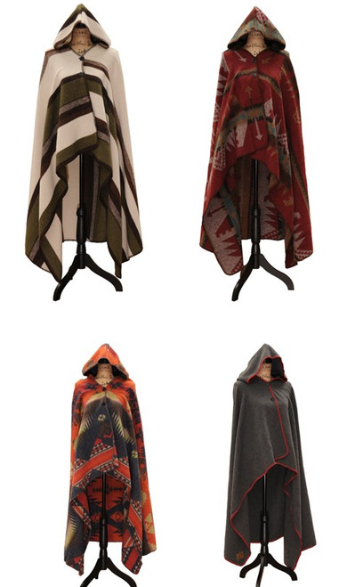 Wooded River Hooded Throw Collection