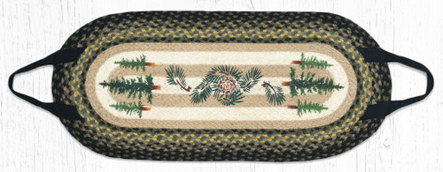 Capitol Earth Rugs Tall Timber Pine Tree Log Carrier