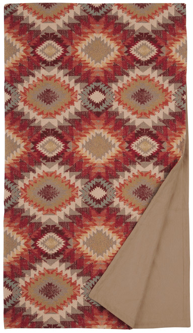 Wooded River Yuma Sol Throw Blanket
