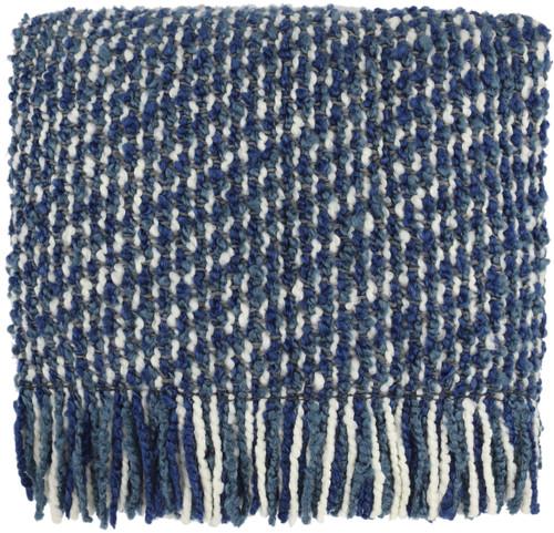 Kennebunk Home Mesa Throw Blanket in Galaxy Blue