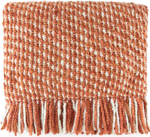 Kennebunk Home Mesa Throw Blanket in Persimmon