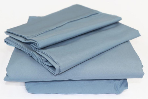 Safe Haven Linens™ Antimicrobial Sheet Set Blue