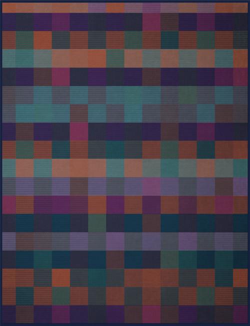 Biederlack Gloomy Block Blanket