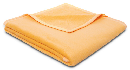 Biederlack Pure Cotton Blanket In Yellow