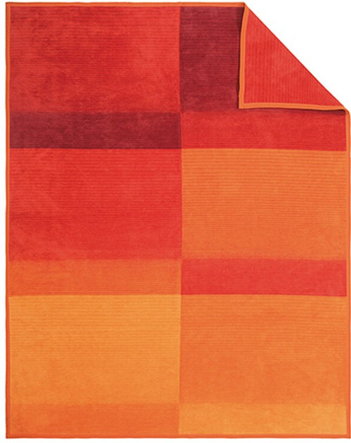 Ibena Granada Orange Blanket