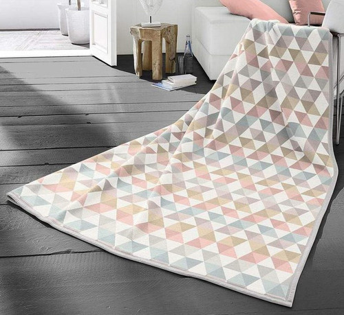 Biederlack Zigzag Pastel Blanket