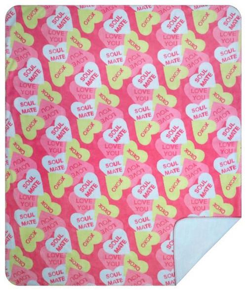 Denali Valentine Candy Throw Blanket