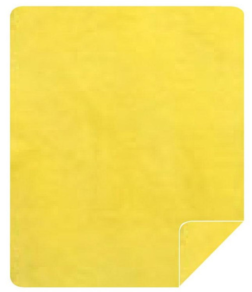 Solid Yellow Throw Blanket