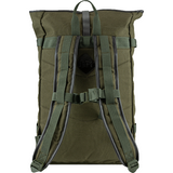 Jack Pyke Canvas Fold Top Pack in green, Canvas rucksack