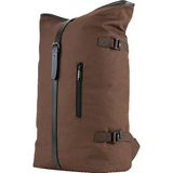 Jack Pyke Canvas Fold Top Pack in brown, canvas rucksack