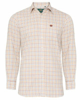 Alan Paine Ilkley Shirt in country brown check