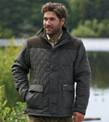 Champion Country Estate Lewis quilted jacket in green