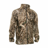 Deerhunter Avanti fleece jacket in max 5 camouflage