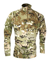 Viper mesh tech armour top in vcam camouflage, quick drying lightweight base layer