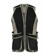 Percussion Skeet vest waistcoat in sand, made from polyester mesh and polycotton