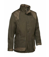 Percussion Sologne Jacket in Khaki with waterproof and breathable membrane