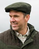 Hoggs of Fife Kincraig Flat cap, waterproof flat cap