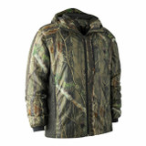 Deerhunter soft padded jacket in camouflage, lightweight packable jacket