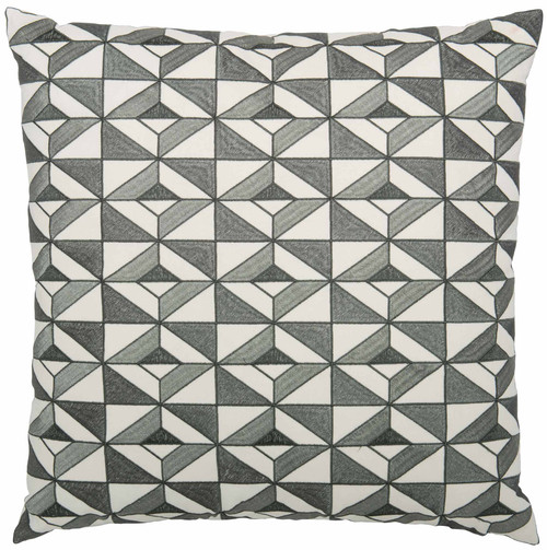 "Bernhardt 23"" Luxe Pillows Tile Embroidered Diamonds-1"