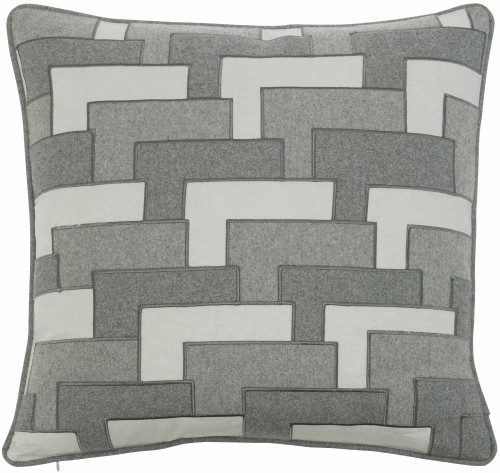 "Bernhardt 22"" Luxe Pillows Layered Pocket Square-1"