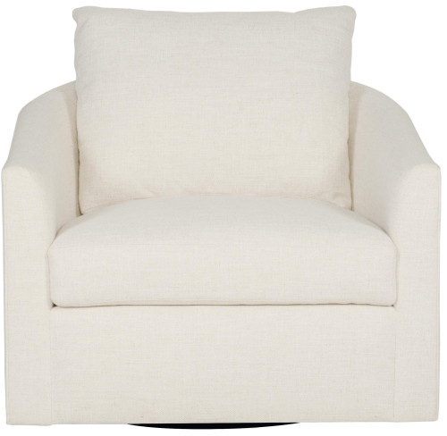 "Bernhardt 37"" Bernhardt Interiors Upholstery Astoria Swivel Chair -1"