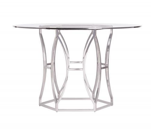 "Bernhardt 100"" Bernhardt Interiors Casegoods Argent Metal Dining Table Base -1"