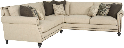 "Bernhardt 111"" Bernhardt Upholstery - Fabric Brae Right Arm Sofa -1"
