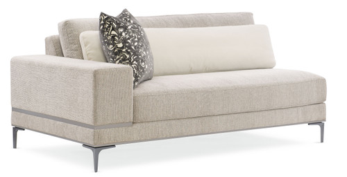 "72"" Modern Expressions - Repetition Laf Loveseat, London Fog"