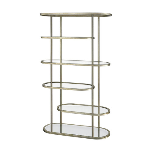 """71"""" ELK Home Stacked Bookcase, Transitional - 1"""